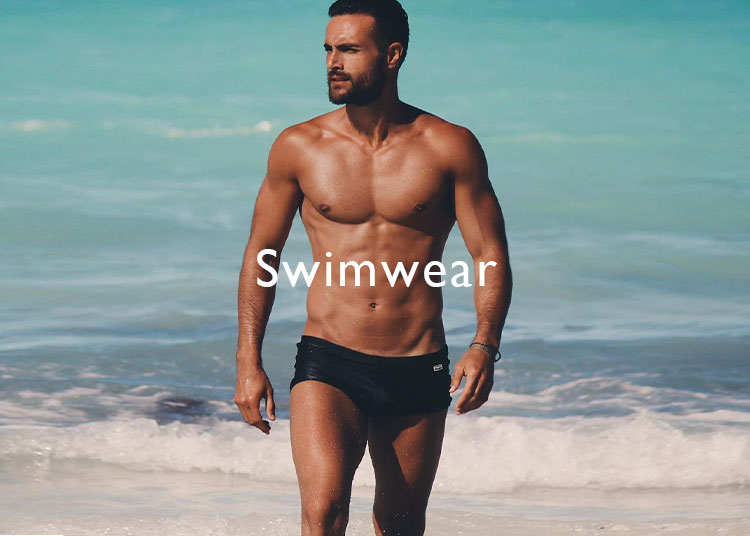 man swimsuite
