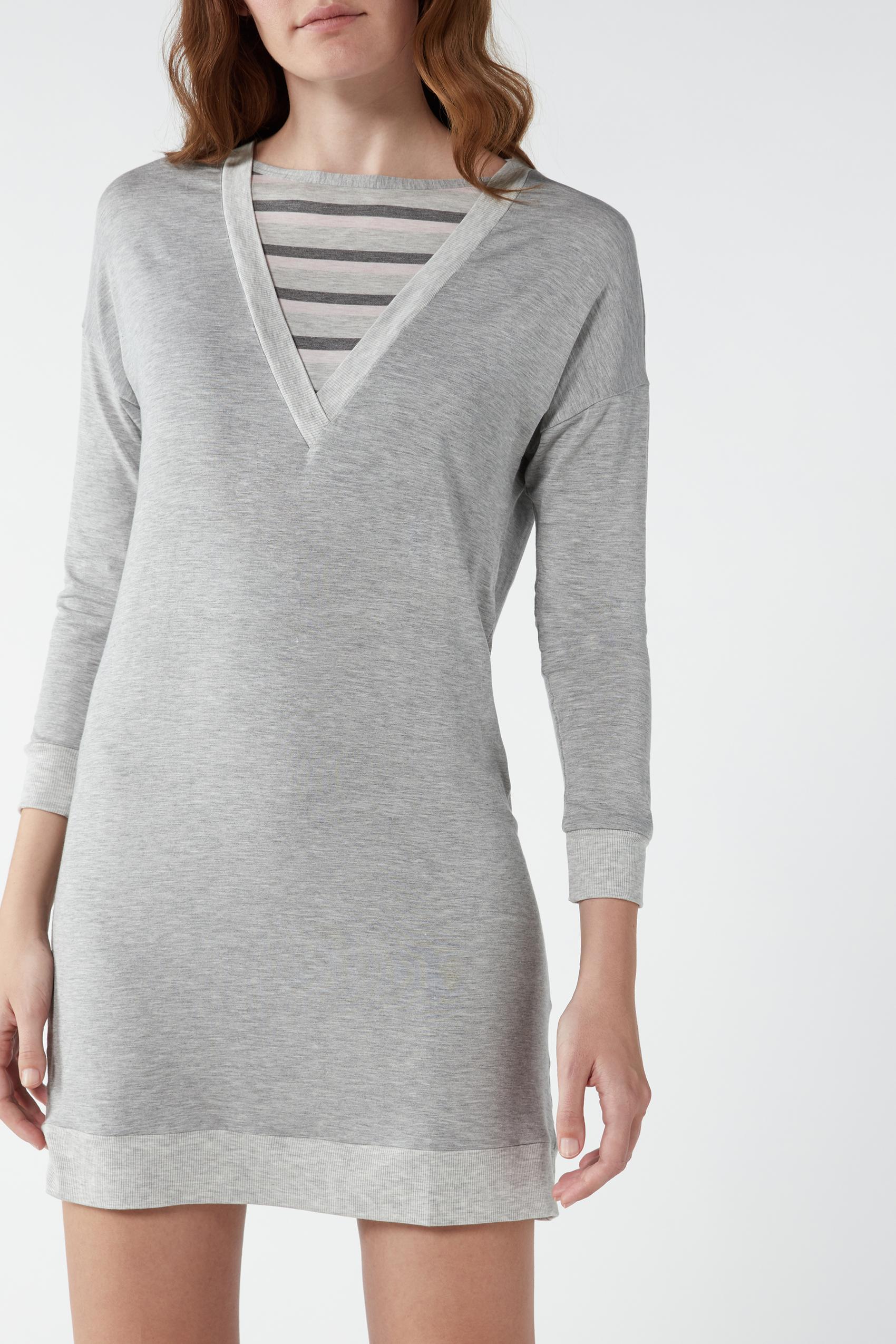 EX M S il comfort fresco cotone modal Star Camicia da notte lunga Lounge dimensioni 8-18